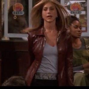 Wilson's  wine leather jacket size XL